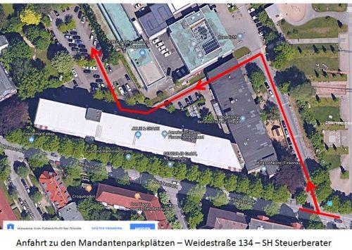 Mandantenparkplätze
